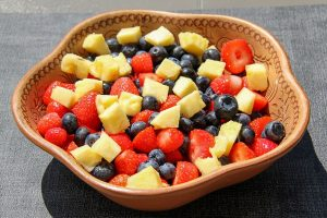 Fruit Salad with Strawberry Dressing Recipe