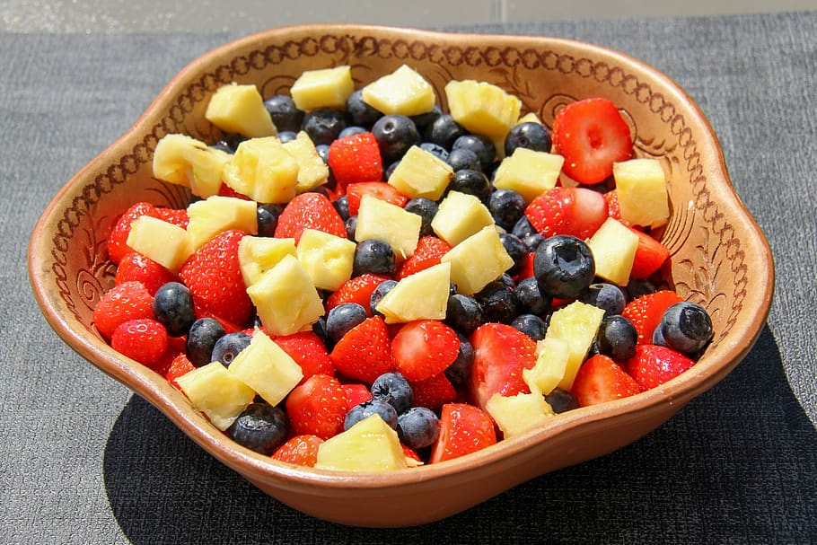 Red, White & Blue Quinoa Fruit Salad(5)
