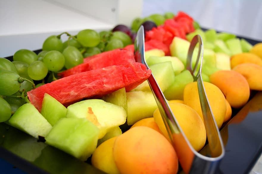 delicious melon fruit salad