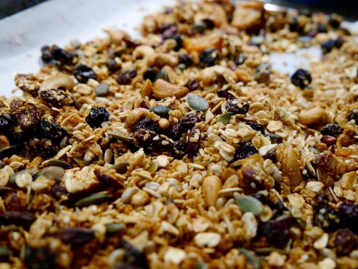 fruity granola recipe