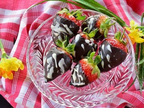 Fudge Dipped Strawberries