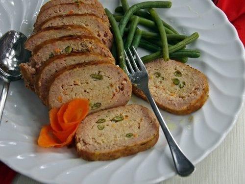 delicious garden meatloaf recipe