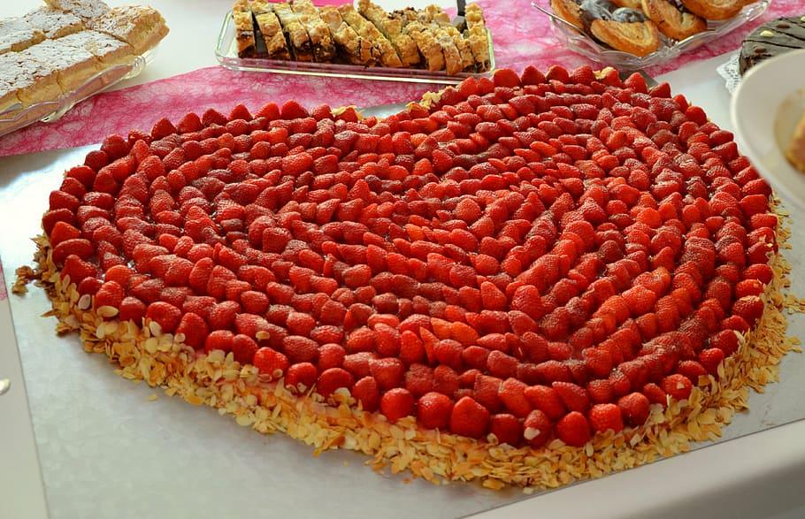 Giant Cherry Heart Dessert Recipe