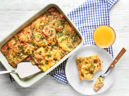 delicious breakfast casserole