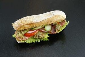 Gourmet Dry Sausage Sandwich Recipe