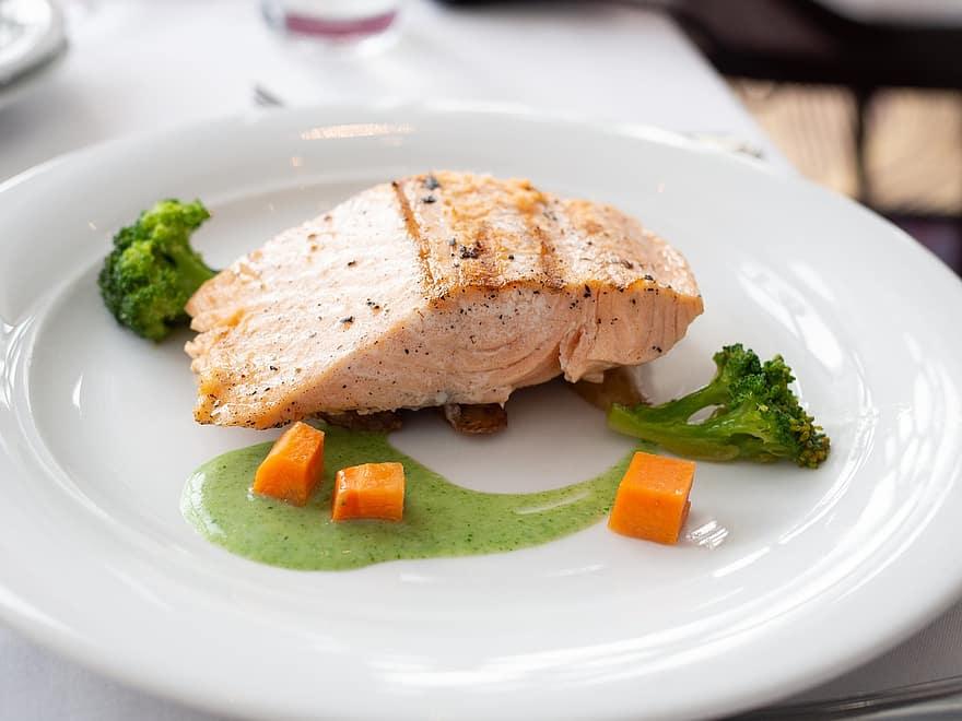 Gourmet Salmon Dinner Recipe