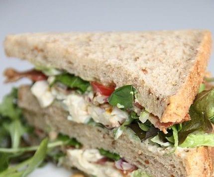 healthy gourmet tuna salad
