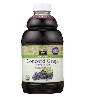 365 Everyday Value, Organic 100% Juice from Concentrate, Concord Grape