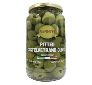 Sanniti Pitted Castelvetrano Olives