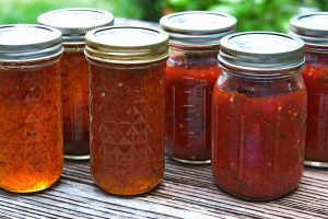 Green & Red Pepper Jelly Recipe