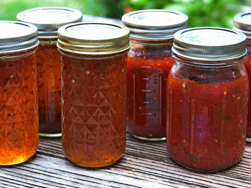 delicious green red pepper jelly