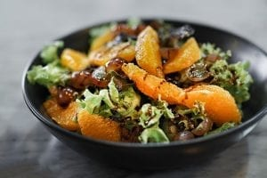 Greens and Mandarin Orange Salad Recipe