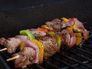 Grilled Fajita Kabobs Recipe