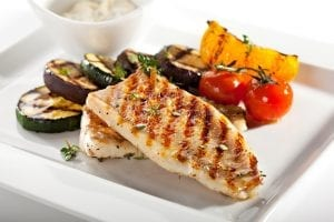 grilled lime basil swordfish