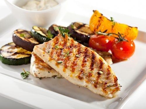 grilled lime basil swordfish