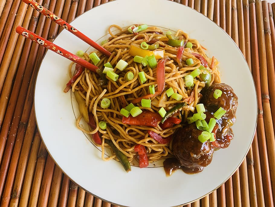delicious ground beef lo mein