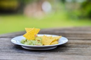 Guacamole with Roasted Garlic Recipe