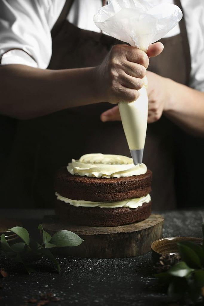 Guinness Chocolate Blarney Castle Cake with Irish Coffee Glaze Recipe