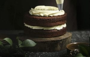 Guinness Chocolate Blarney Castle Cake with Irish Coffee Glaze Recipe