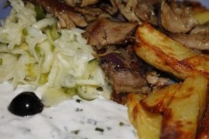 Gyro Meat Platter Recipe