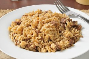 Hamburger and Rice Recipe