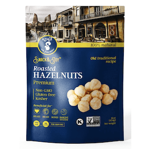 Roasted Hazelnuts Non-GMO Certified