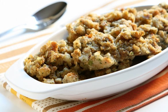 Homemade Old-Fashioned Stuffing Recipe