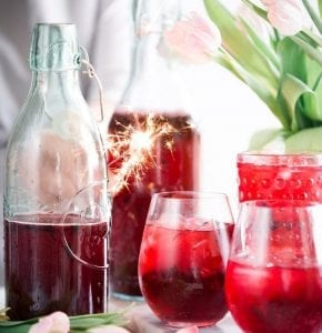 Homemade Raspberry-Flavored Vodka Recipe