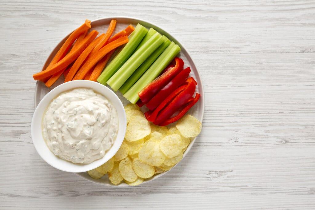 Homemade Sour Cream Chip Dip Recipe, homemade chip dip for potato chips