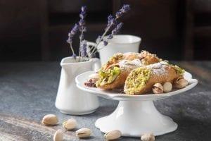 Italian Classic Pistachio Cannoli Recipe