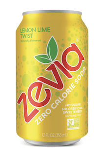 Zevia Zero Calorie Soda, Lemon Lime Twist