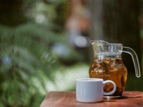 lemon rosemary iced tea