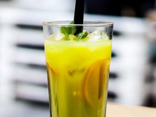 sweet lemonade punch