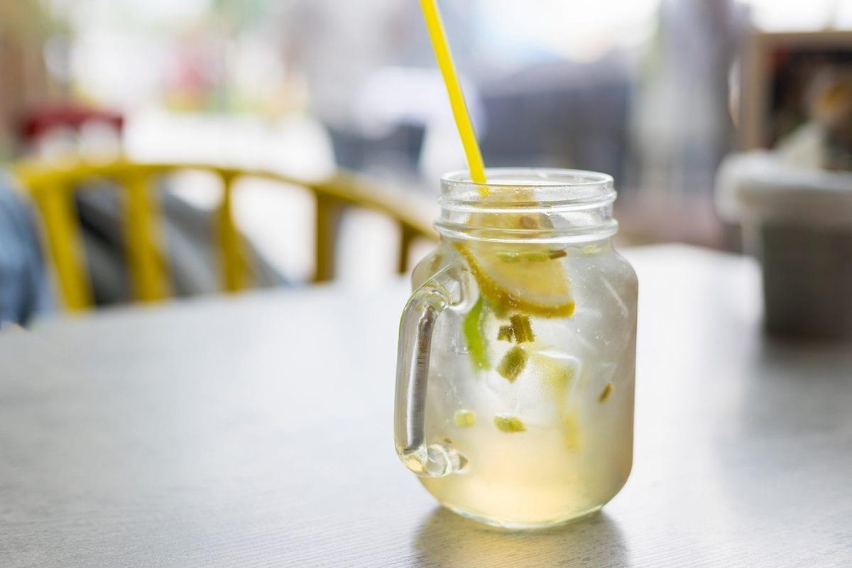 lemongrass iced tea