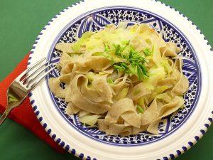 Lemony Fettuccine Alfredo with Peas Recipe