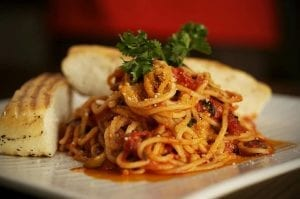 Linguine Fini with Shrimp, Olives and Pepperoncini Recipe