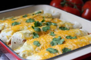 Low-Fat Chicken Enchiladas Recipe