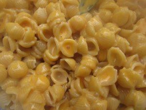 cheesy macaroni