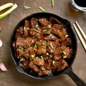 Make The Best Mongolian Beef In Town Recipe