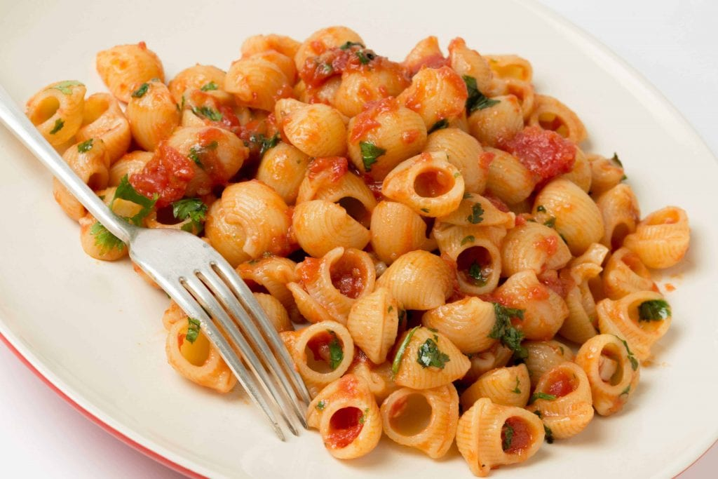 Marinara Macaroni Salad Recipe