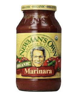 Newman's Own, Organic, Pasta Sauce, Marinara