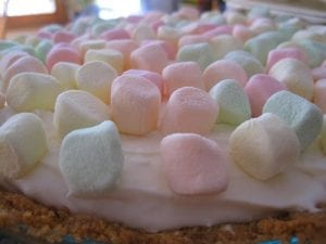 Marshmallow Mermaid Pie Recipe