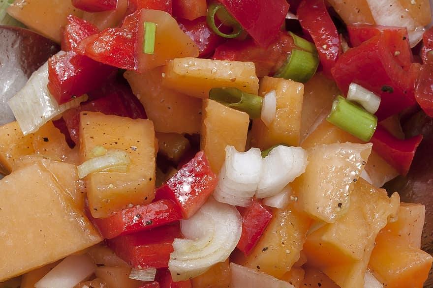 healthy melon salad