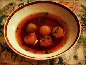 Melon Balls With Port Recipe