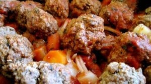 Mexican Meatball Stew Recipe