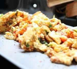 Mexican Scrambled Eggs Recipe