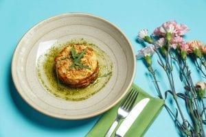 Microwave Vegetable Lasagna Recipe