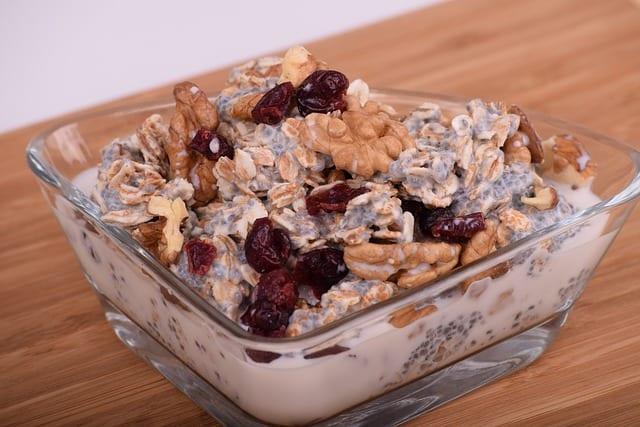 high fiber oatmeal