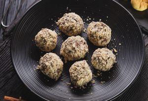Mini-Chocolate Chip Cheesecake Ball Recipe