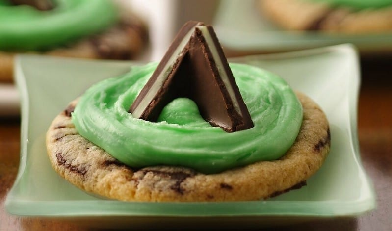 Mint Candy-Filled Cookies Recipe